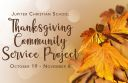 JCS Thanksgiving Community Service Project
